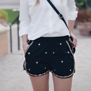 MADEWELL Embroidered Springtime Pull On Shorts P2